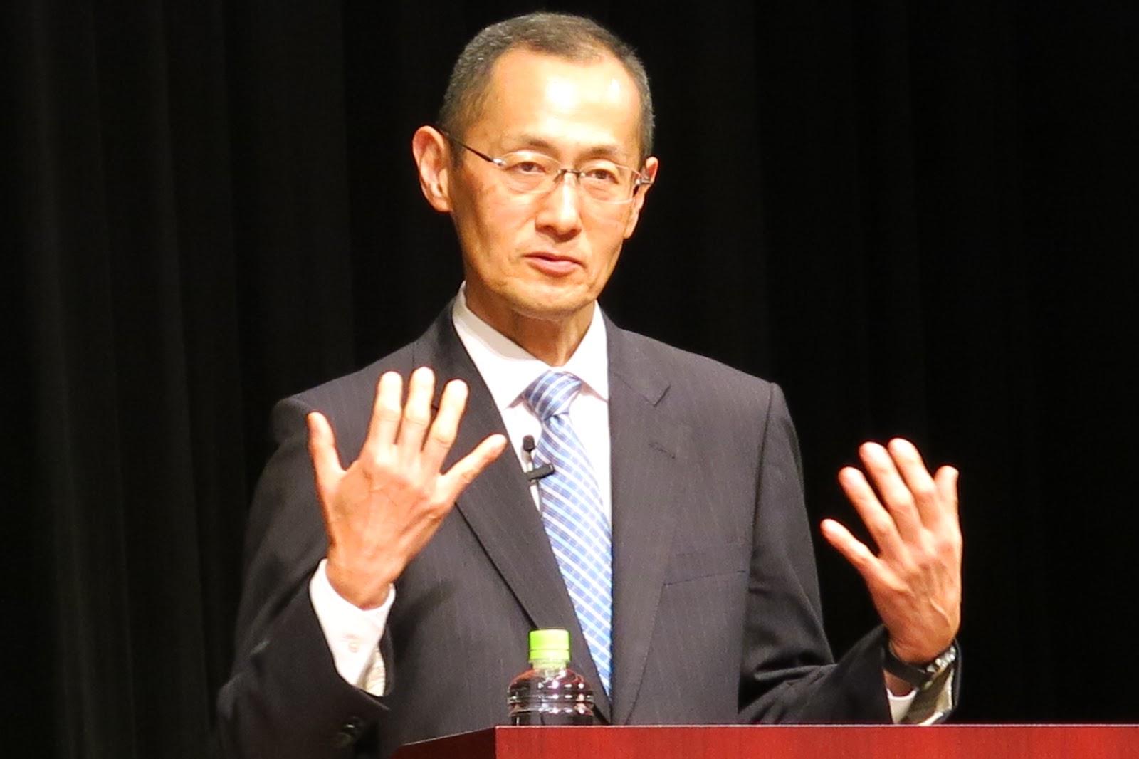ノーベル賞の受賞者の山中伸弥博士