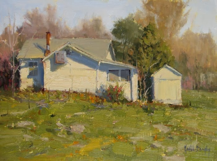Пленэр-художница. Kathleen Dunphy