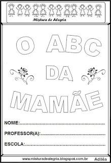Álbum o ABC da mamãe