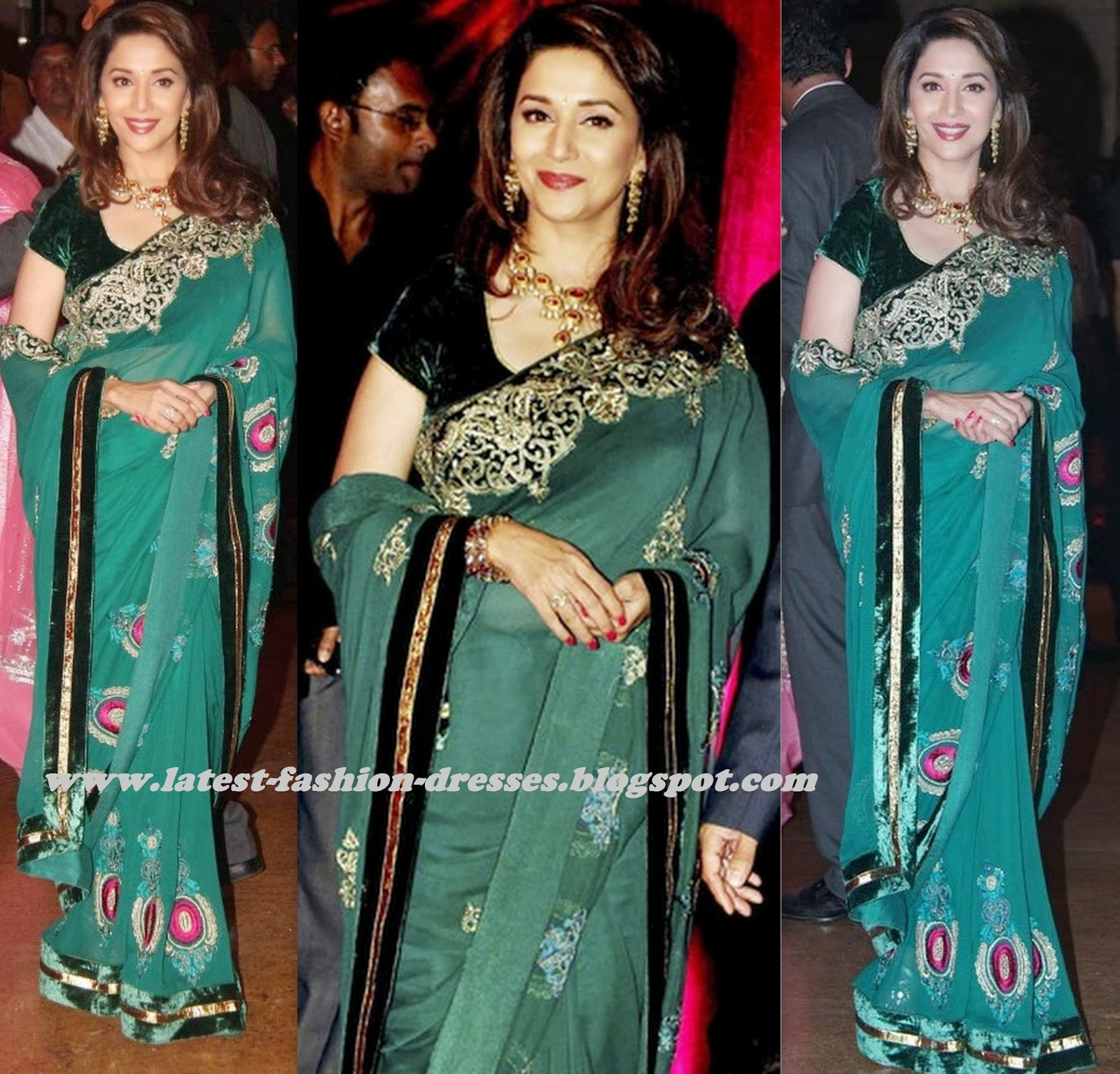 velvet border with velvet blouse transparent saree