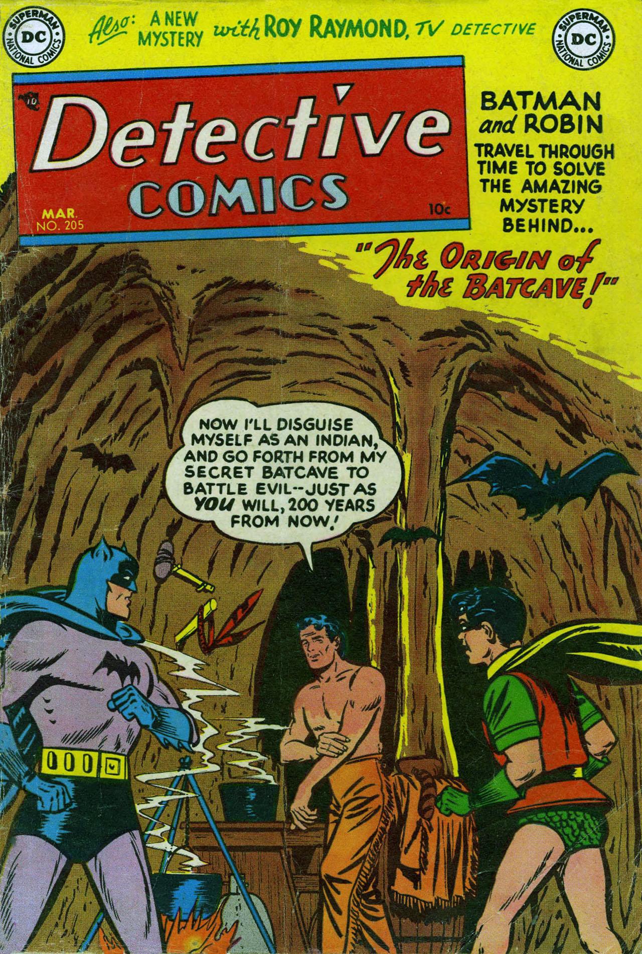 Detective Comics (1937) 205 Page 0