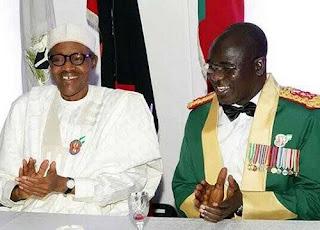 Buhari and Tukur Buratai