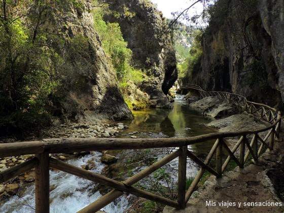 Rutas en Familia, nacimiento del río Borosa y la Cerrada de Elías