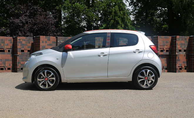 Citroen C1 Airscape side view