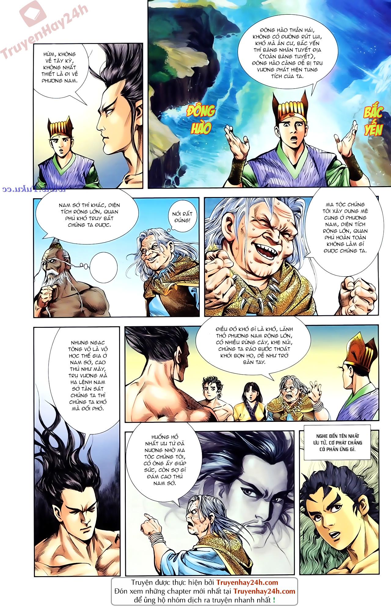 Cơ Phát Khai Chu Bản chapter 85 trang 13