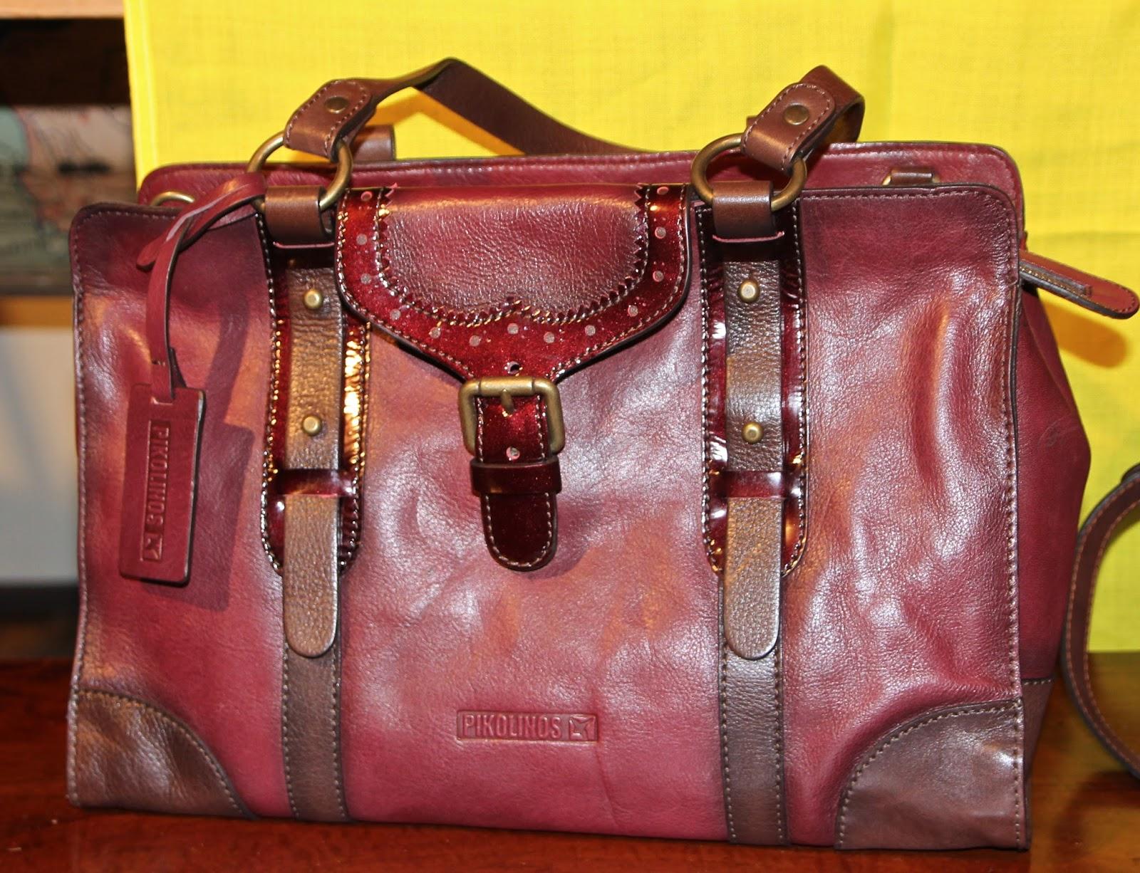 ce6b65a6c6d PIKOLINOS Leather-Satchels, Backpacks, Handbags