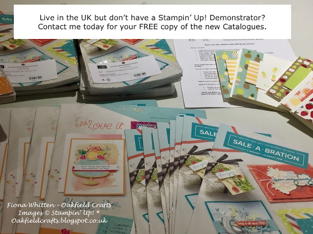 Free Catalogues, Stampin' Up!, Spring/Summer, Sale-A-Bration