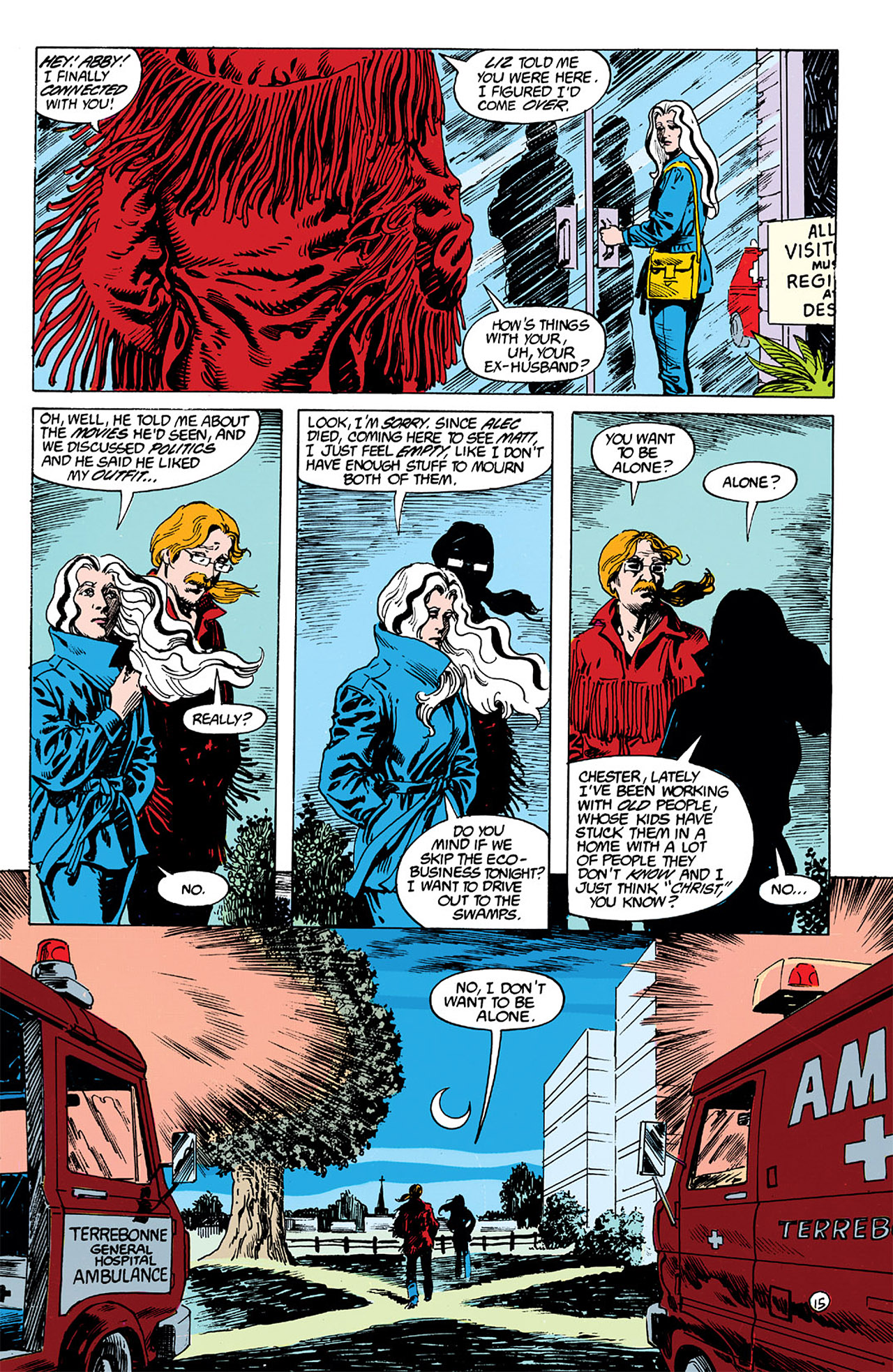 Swamp Thing (1982) Issue #63 #71 - English 15