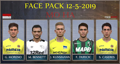 PES 2017 Facepack 12-5-2019 by Mo Ha