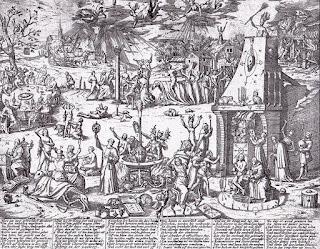 Panfleto de 1594 sobre los juicios por brujería de Trier
