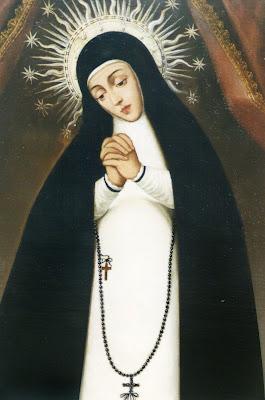 En la Imagen el cuadro original de la Virgen de la Paloma