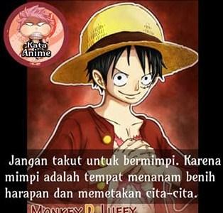 Gambar Kata Kata Anime One Piece