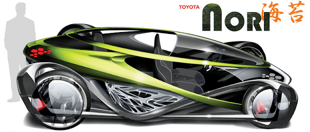 Gambar Mobil Masa Depan Toyota Nori