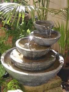 53 inspirasi desain air mancur cantik di taman - rumahku unik