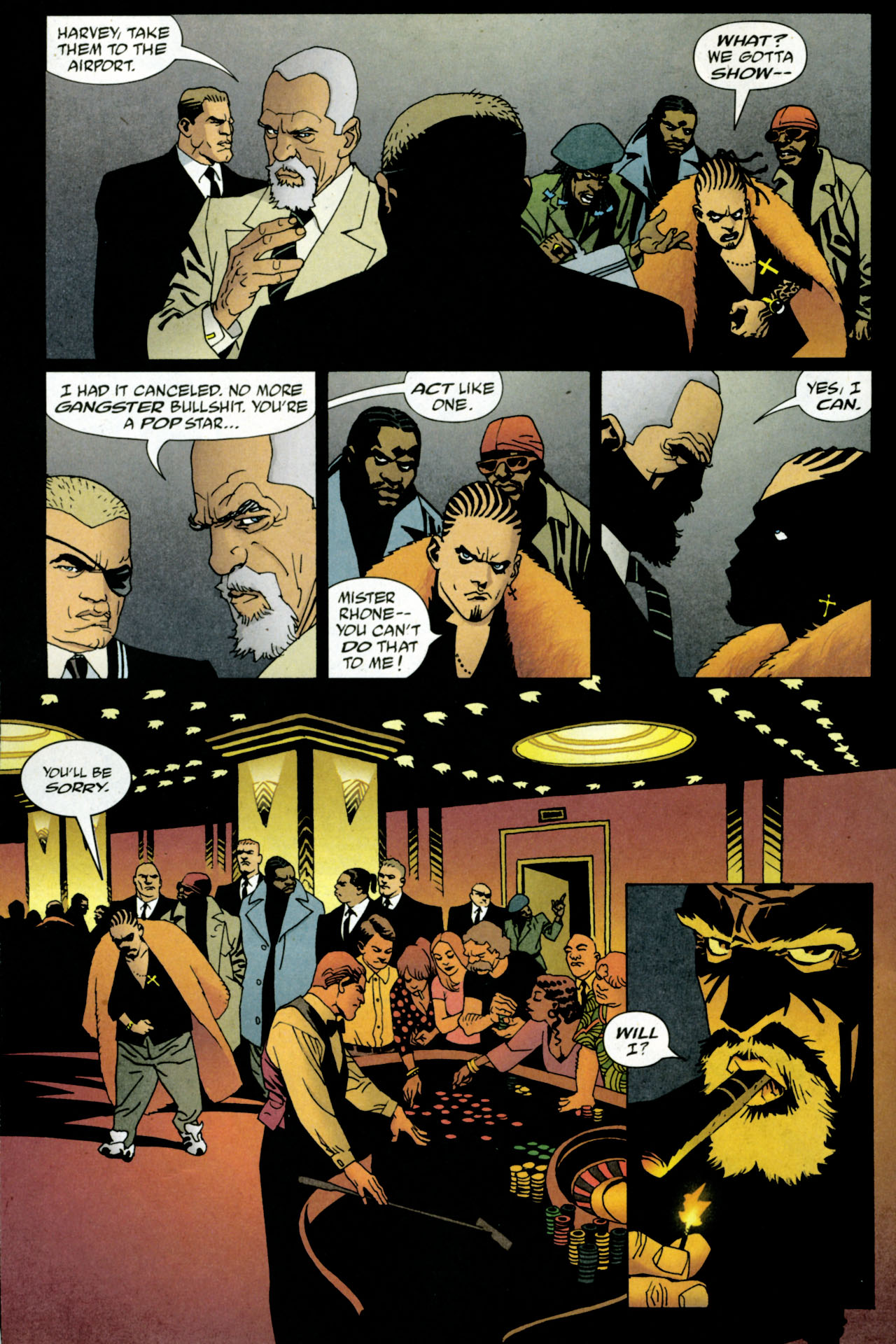 Read online 100 Bullets comic -  Issue #84 - 5