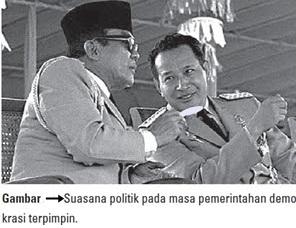 suasana politik pada masa pemerintahan demokrasi