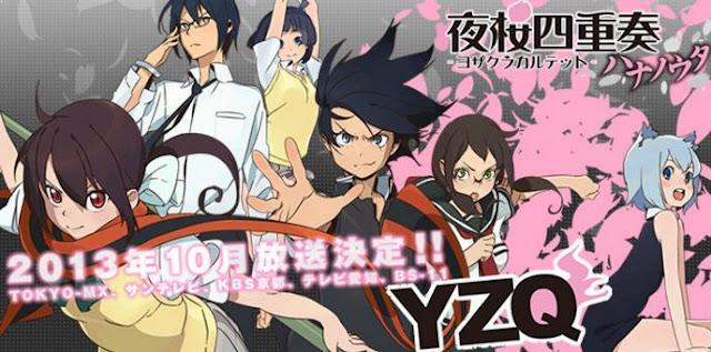 Anime Bagus Underrated  yang Jarang Ditonton/Direkomendasi - Yozakura Quartet: Hana no Uta