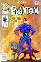 The Phantom v2 #67 charlton comic book cover art by Don Newton
