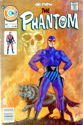 The Phantom v2 #67 charlton comic book cover art by Don Newton