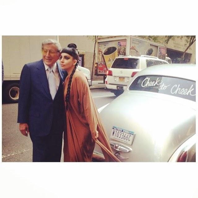 Lady Gaga Goes Braless As She Announces Duet Jazz Album