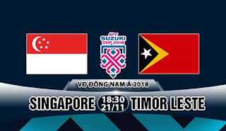 Singapore vs East Timor live video online Streaming Today 21-11-2018 AFF Suzuki Cup 2018