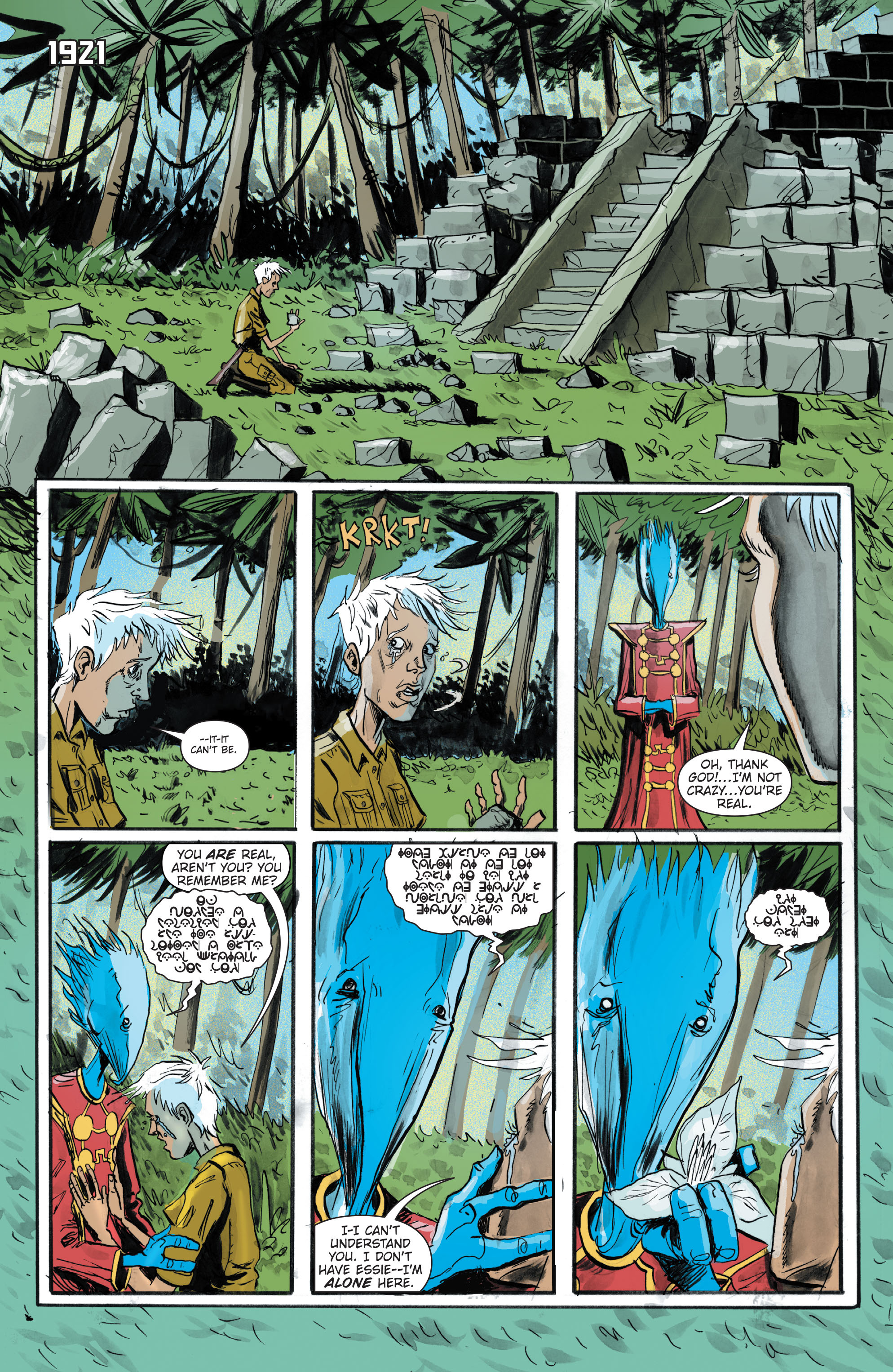 Read online Trillium comic -  Issue # TPB - 164