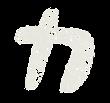 カタカナのペンキ文字「カ」