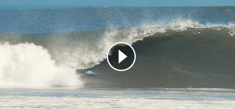 Benji Brand s Six Namibia Barrels On One Wave