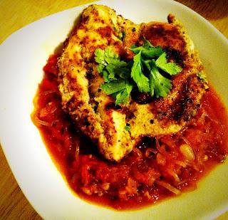 Paleo Chicken Parmesean