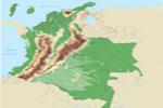 Mapa físico de Colombia