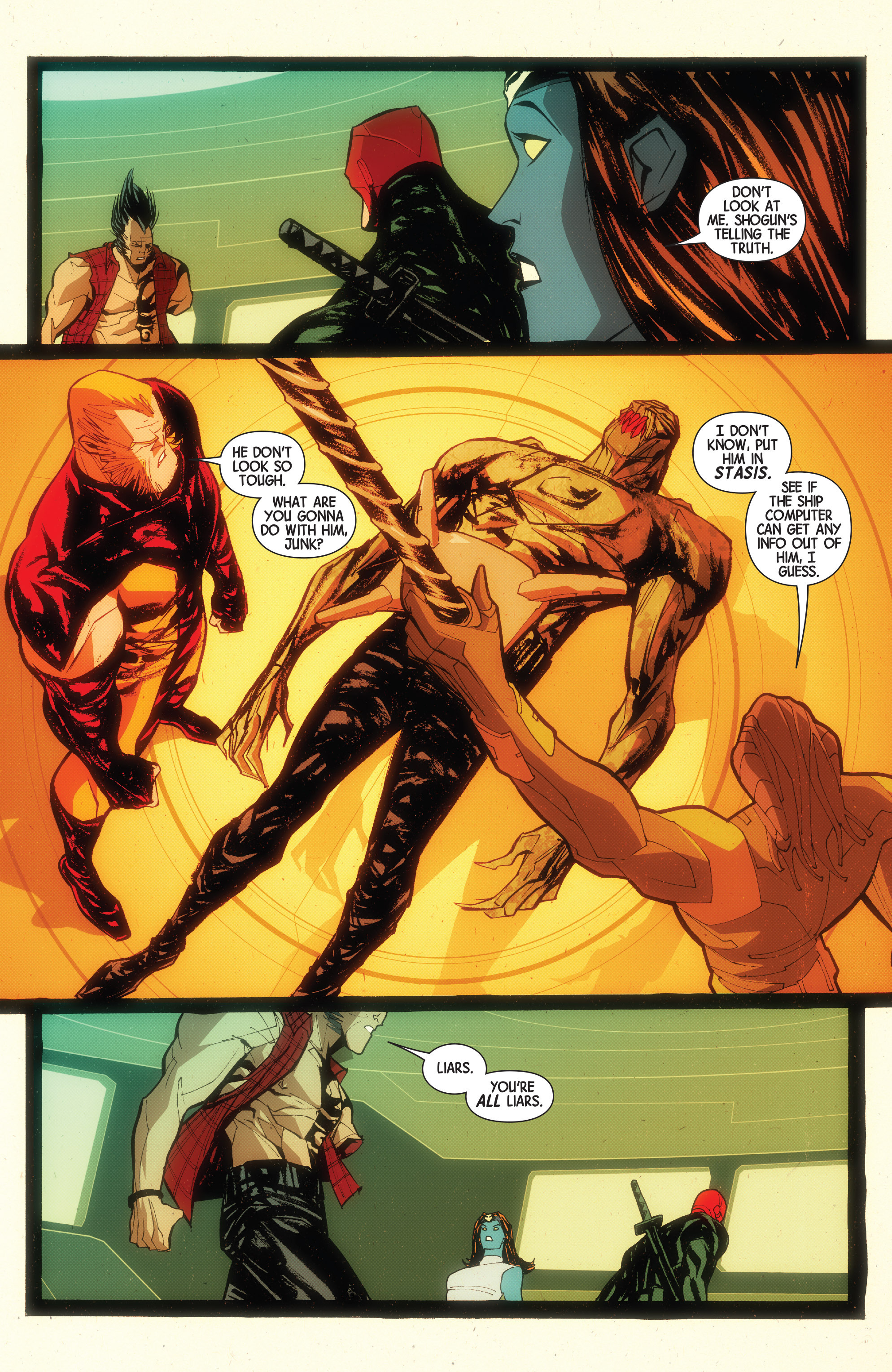 Read online Wolverines comic -  Issue #15 - 19