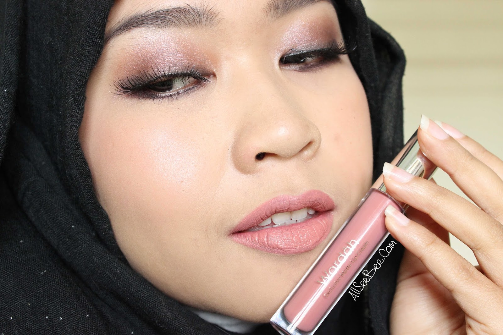 [Review] Wardah Exclusive Matte Lip Cream 03 See You Latte