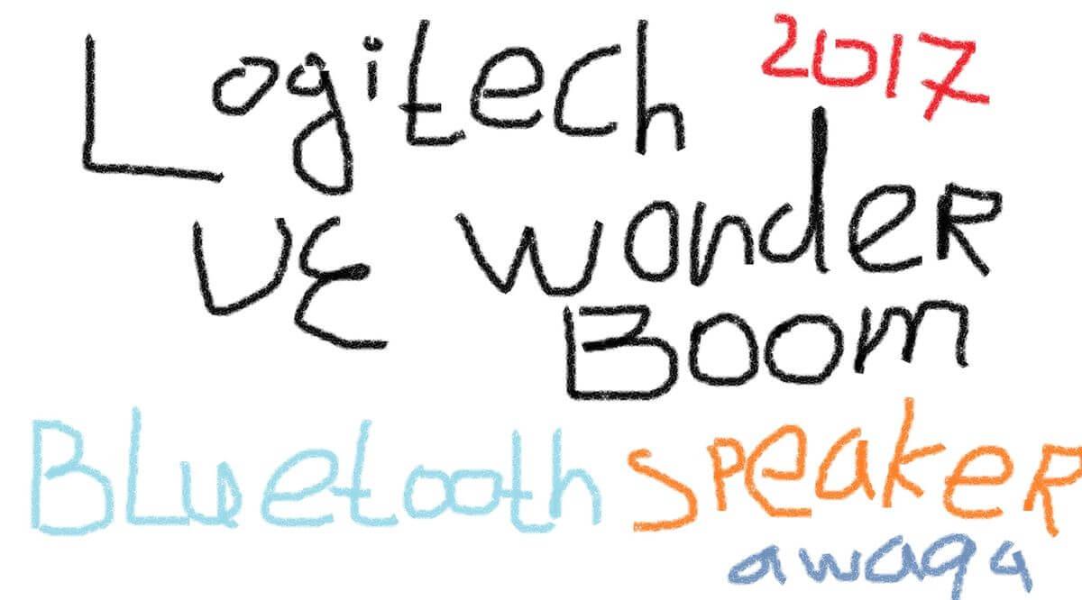 New and beautiful Bluetooth speakers Logitech UE Wonderboom
