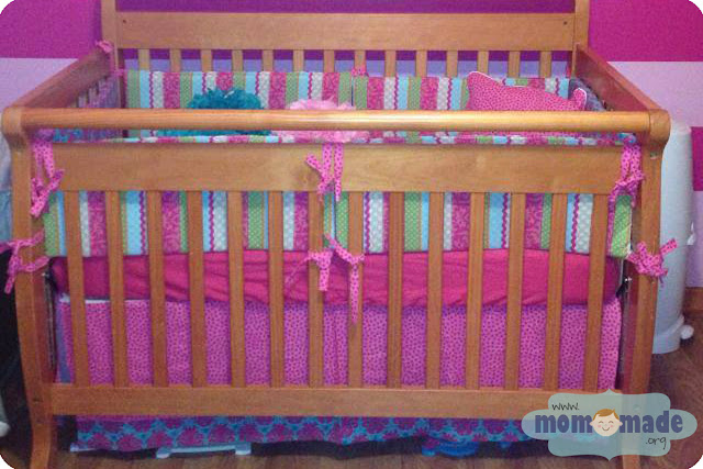 Bumper Pads, Pillow Cover, & Crib Skirt