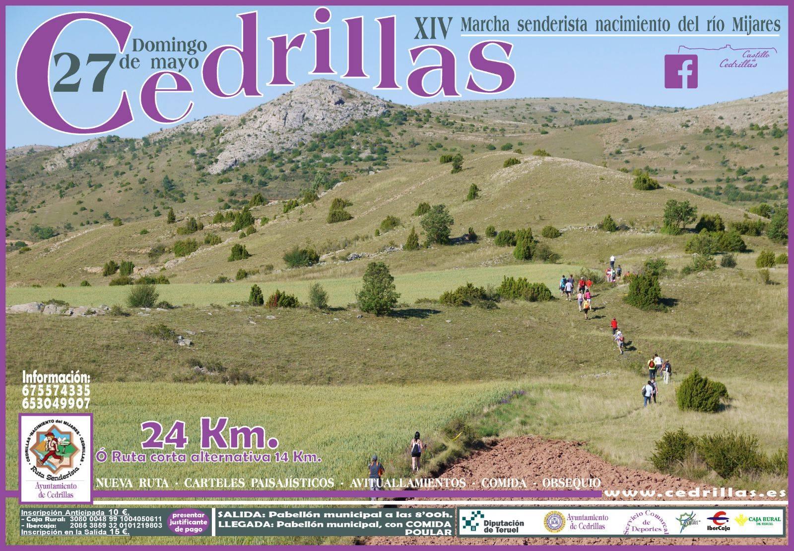 XIV Marcha senderista nacimiento del río Mijares