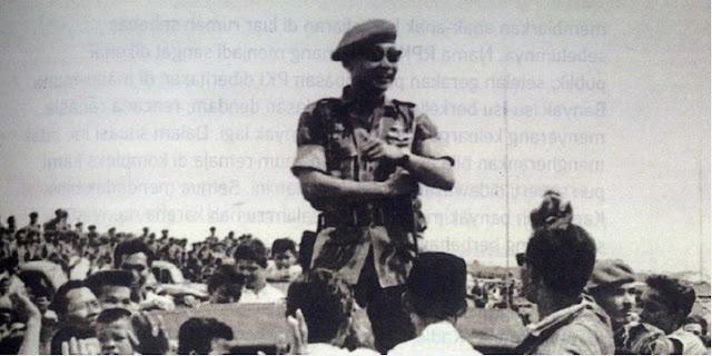 Sarwo Edhie Wibowo, Perwira Baret Merah dengan Loreng Darah Mengalir