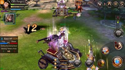 Kingdom Warriors v1.4.0 Mod Apk (High Damage) Terbaru
