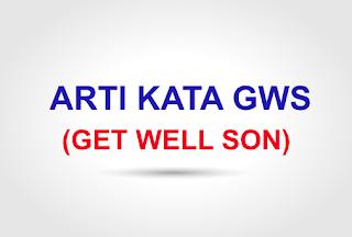 arti kata dan kepanjangan dari GWS