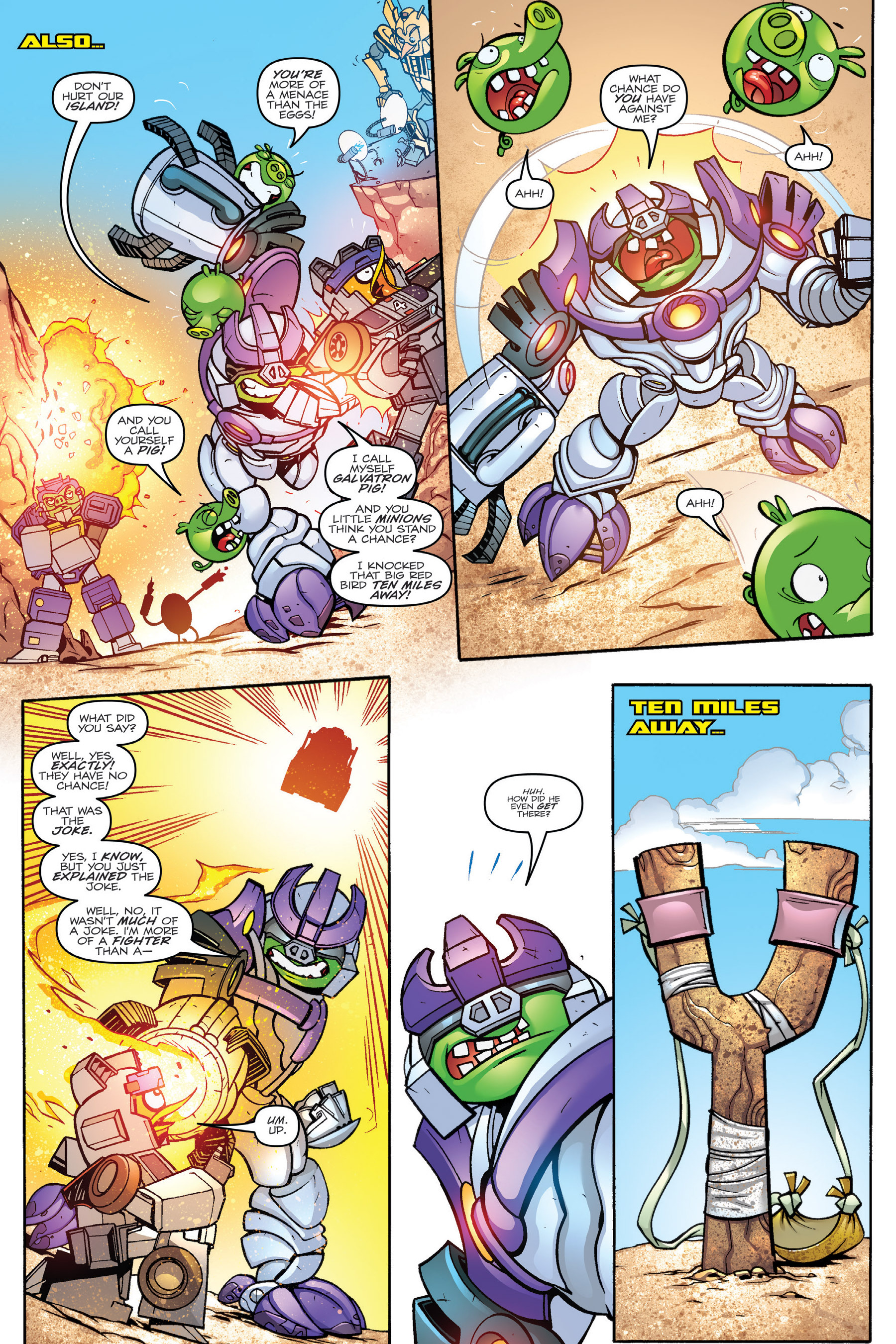 Read online Angry Birds Transformers: Age of Eggstinction comic -  Issue # Full - 61
