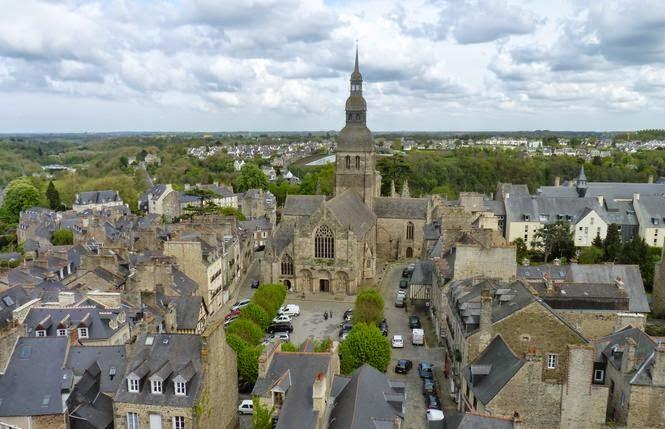 Basílica de Saint-Sauveur en Dinan.