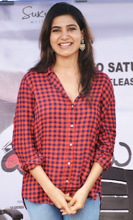 Samantha Ruth Prabhu super cute at launch of song Sunday to Saturday