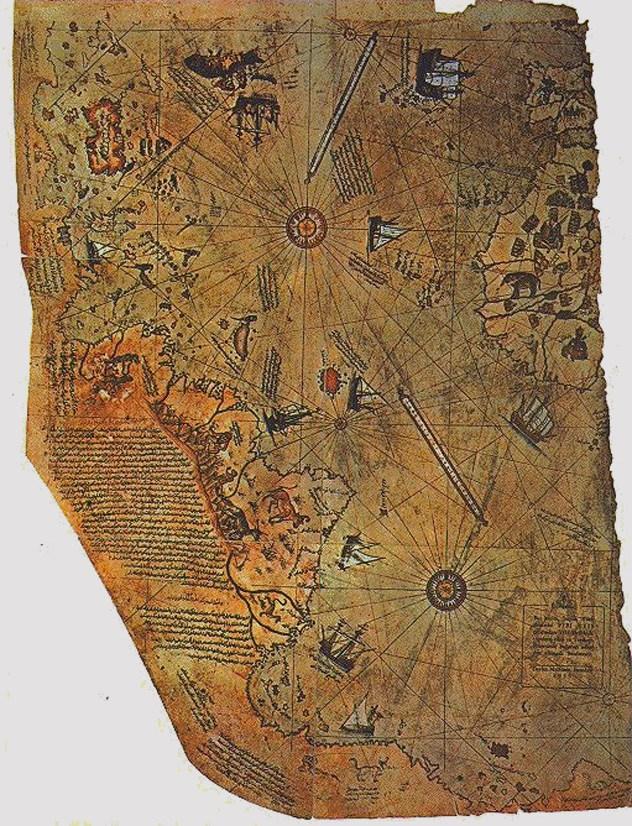 Wow! Inilah Legenda 11 Peta Dunia Bersejarah Paling Unik dan Sangat Indah Yang Pernah Di Desain dan Ada Di Dunia Hingga Saat ini