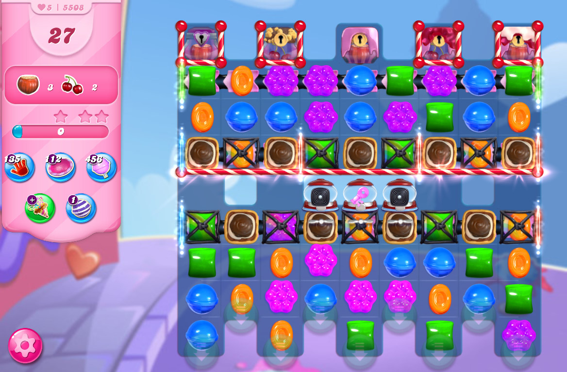 Candy Crush Saga level 5508