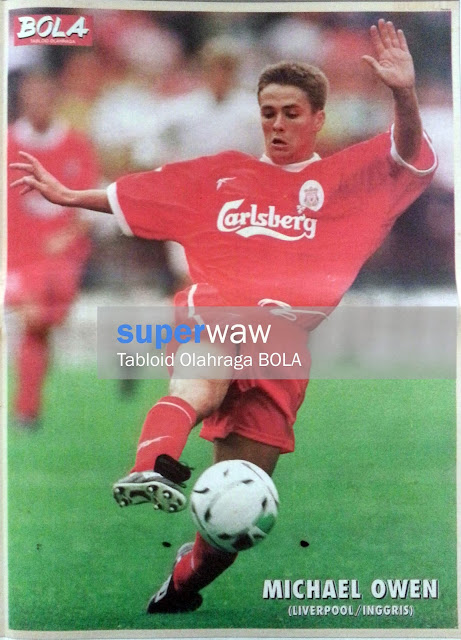 Michael Owen Liverpool 98