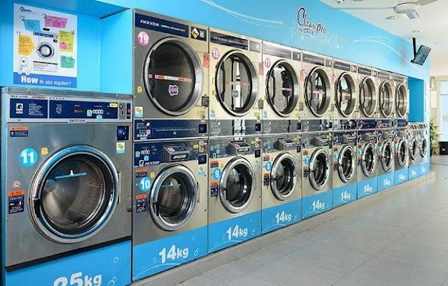 Giặt sấy tự động tại quận tân bình