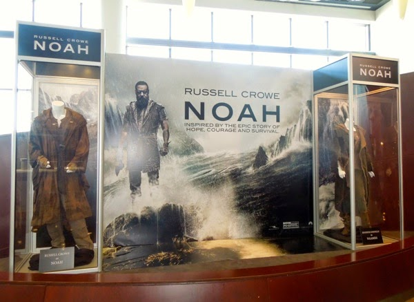Noah movie costume exhibit