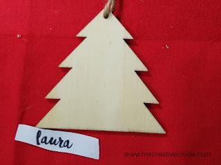 come personalizzare degli alberi di legno con il lettering