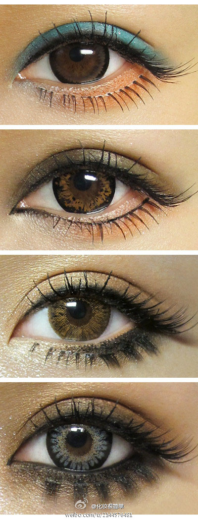 Do People Indeed Look More Attractive With Other Eye Colors Such As Blue Green Brown Grey And Purple On Their Eyes Instead Of Own Color In