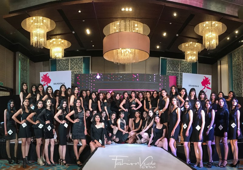 "Jaipur Auditions of ""Elite Miss Rajasthan 2018""."