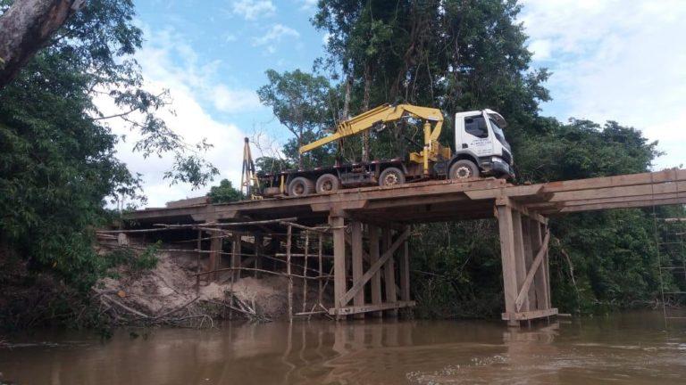 Marinha pede relatório sobre construção de ponte ilegal no rio Jamanxi